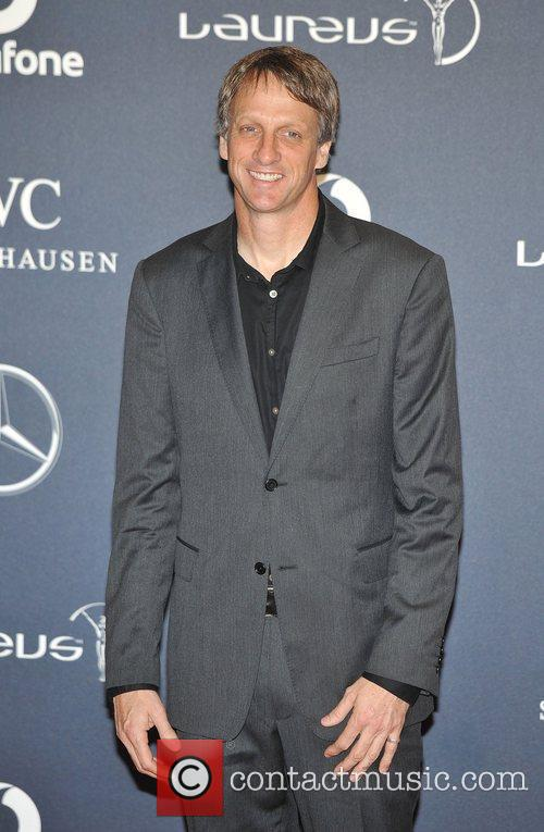 Tony Hawk Laureus Sport Awards held at the...