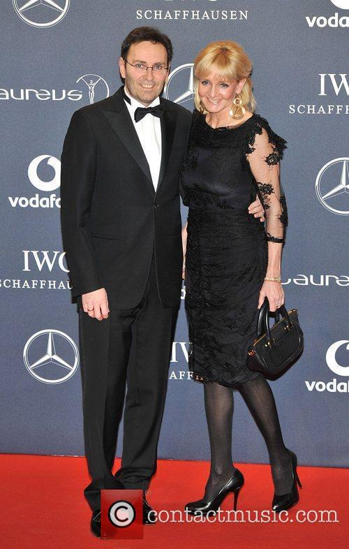 Guests Laureus Sport Awards held at the Queen...