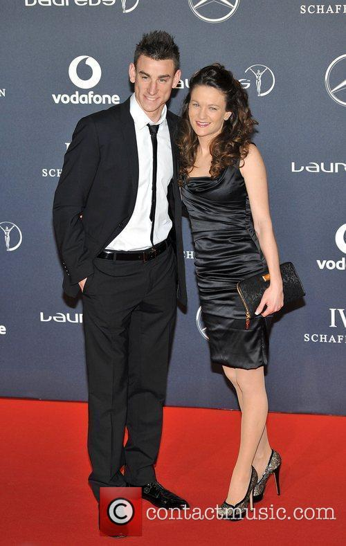 Laurent Koscielny Laureus Sport Awards held at the...