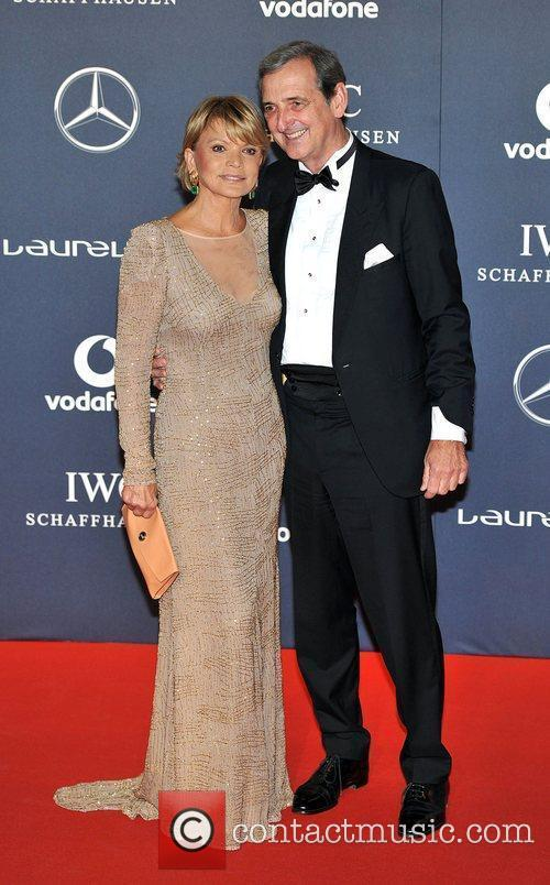 Uschi Glas and Dieter Hermann Laureus Sport Awards...