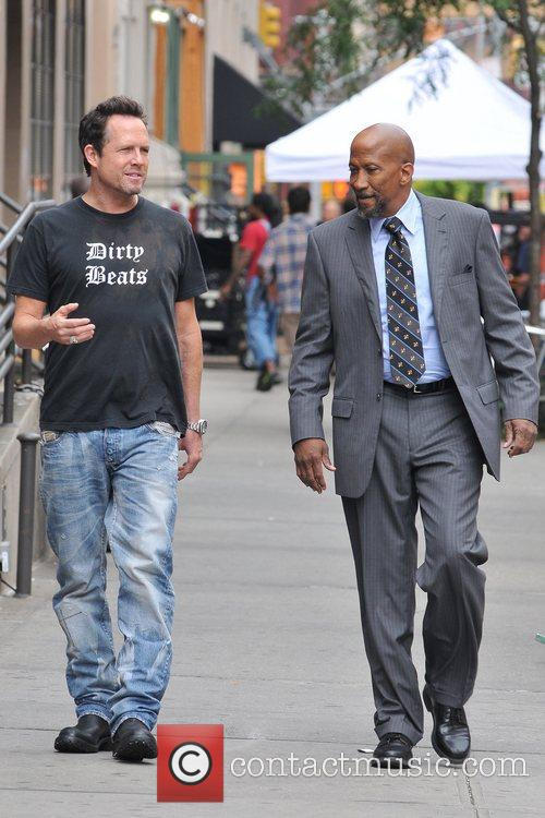 Dean Winters and Reg E Cathey  seen...