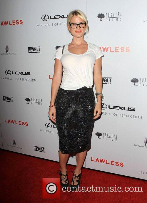alice eve at the premiere of lawless 4043881