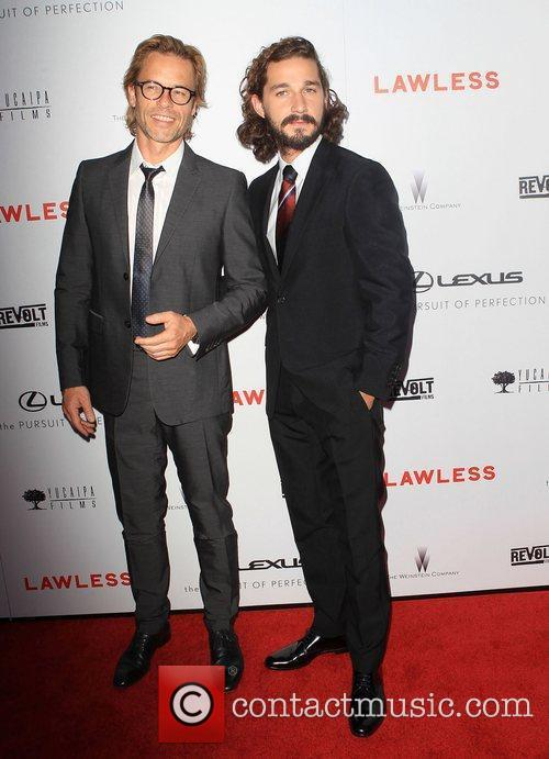 Guy Pearce, Shia Labeouf and Arclight Cinemas 2