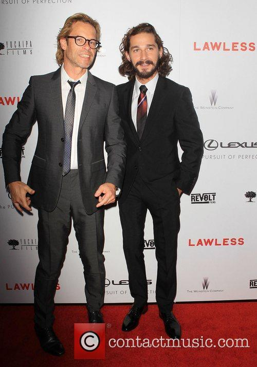 Guy Pearce, Shia Labeouf and Arclight Cinemas 5