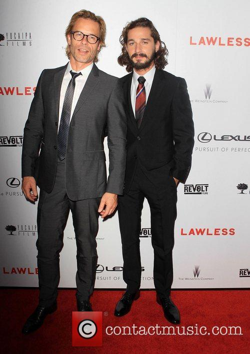 Guy Pearce, Shia Labeouf and Arclight Cinemas 6