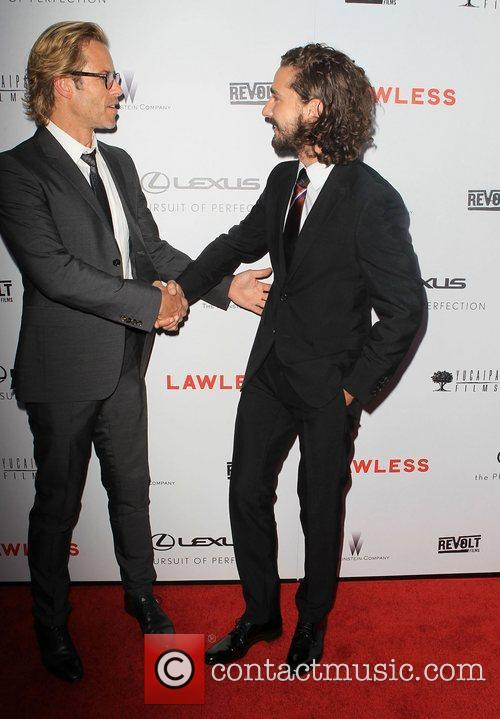 Guy Pearce, Shia Labeouf and Arclight Cinemas 7