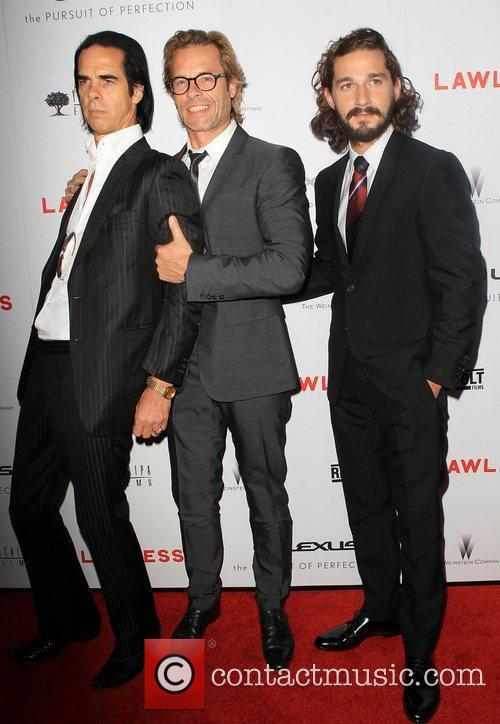 Nick Cave, Guy Pearce and Shia Labeouf 3