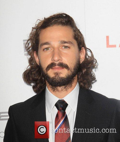 Shia LaBeouf at the premiere of 'Lawless' at ArcLight Cinemas Hollywood