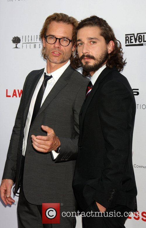Guy Pearce, Shia Labeouf and Arclight Cinemas 9