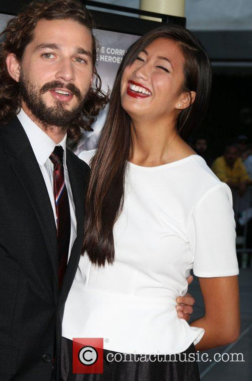 shia labeouf karolyn pho the premiere of 4044363