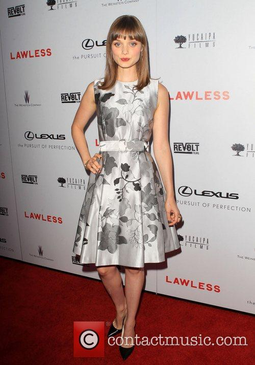 The premiere of 'Lawless' at ArcLight Cinemas