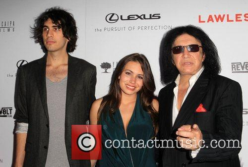 Sophie Simmons and Gene Simmons 3