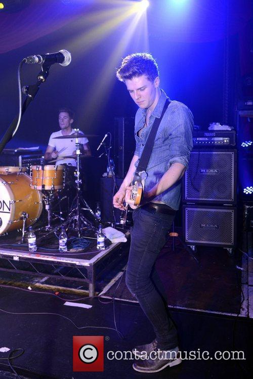 UK boy band Lawson party and performance at...