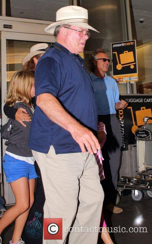 William Shatner arrives at LAX airport Los Angeles,...