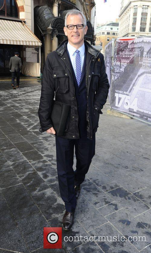 Brian Paddick  arrives at LBC Radio London,...