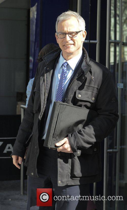 Brian Paddick  outside LBC Radio London, England