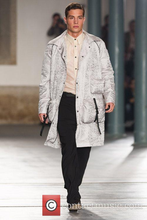 Model  Lisbon Fashion Week Spring/Summer 2013 -...