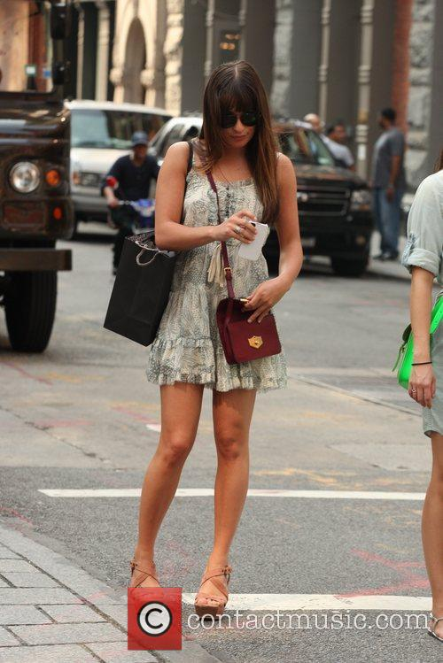 lea michele seen out and about in 5843505