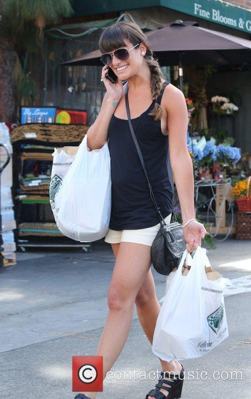 Lea Michele and Bristol Farms 6
