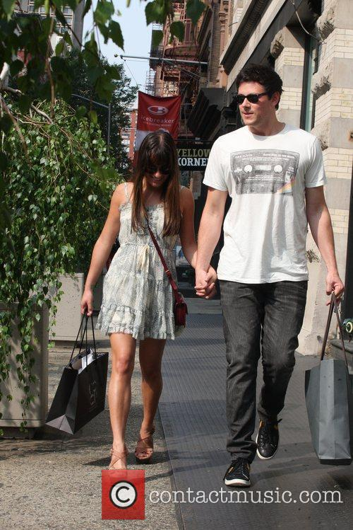 Lea Michele and Cory Monteith 6