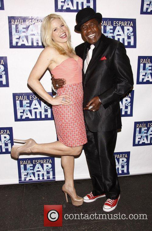 Opening night of the Broadway musical 'Leap Of...
