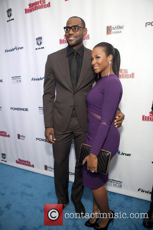 Lebron James and Savannah Brinson 3