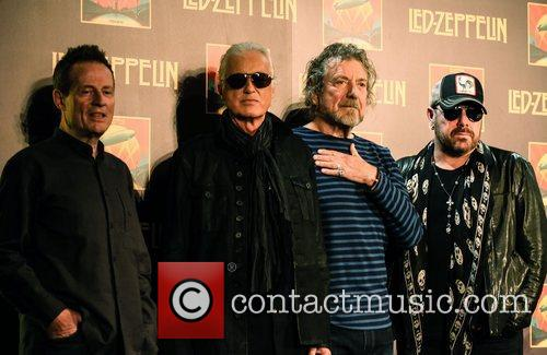 John Paul Jones, Jimmy Page, Robert Plant and Jason Bonham 1