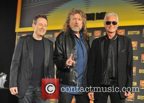 Robert Plant, Jimmy Page and John Paul Jones 6