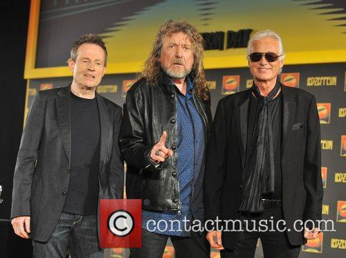 Robert Plant, Jimmy Page and John Paul Jones 1