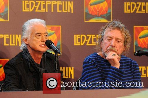 Jimmy Page, Robert Plant, Led Zeppelin, Celebration Day, Press Conference and New York City 2