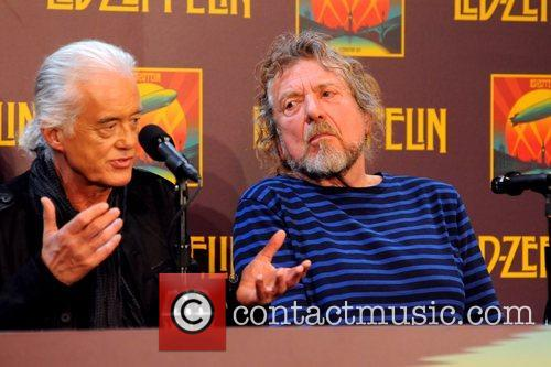 Jimmy Page, Robert Plant, Led Zeppelin, Celebration Day, Press Conference and New York City 3