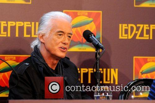 Jimmy Page, Led Zeppelin, Celebration Day, Press Conference and New York City 8