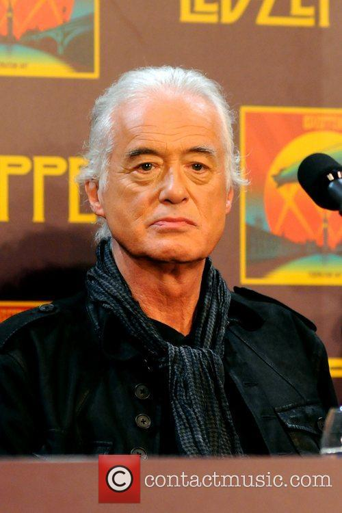 Jimmy Page, Led Zeppelin, Celebration Day, Press Conference and New York City 9