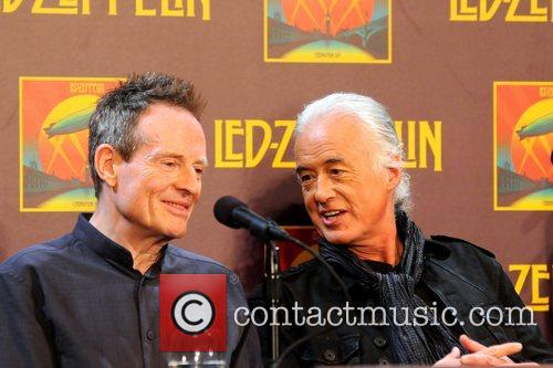 John Paul Jones, Jimmy Page, Led Zeppelin, Celebration Day, Press Conference and New York City 6