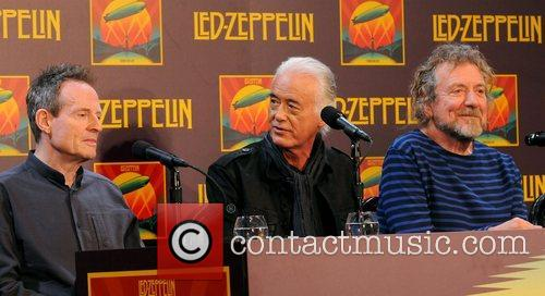 John Paul Jones, Jimmy Page and Robert Plant 1