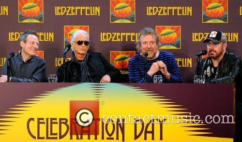 John Paul Jones, Jimmy Page, Robert Plant and Jason Bonham 11