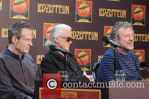 John Paul Jones, Jimmy Page and Robert Plant 2