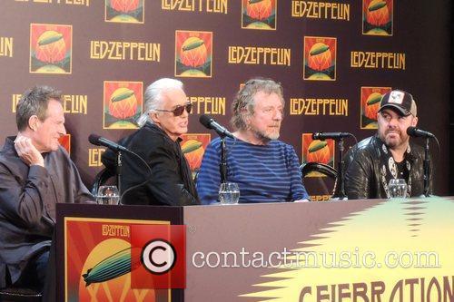 John Paul Jones, Jimmy Page, Robert Plant and Jason Bonham 9
