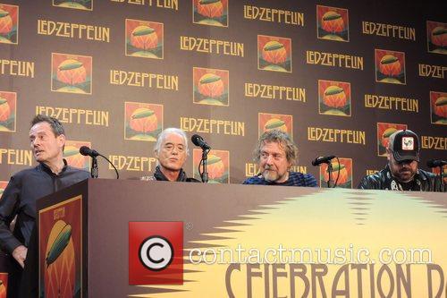 John Paul Jones, Jimmy Page, Robert Plant and Jason Bonham 6