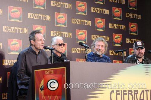 John Paul Jones, Jimmy Page, Robert Plant and Jason Bonham 10