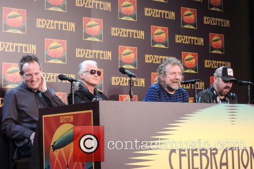 John Paul Jones, Jimmy Page, Robert Plant and Jason Bonham 8