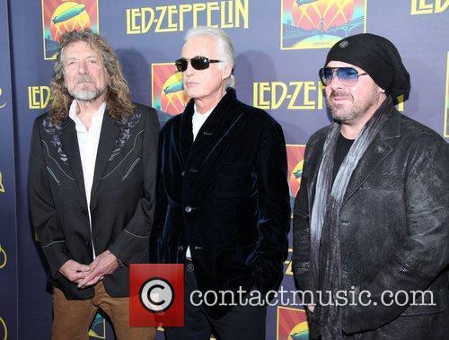 Robert Plant, Jimmy Page, John Paul Jones, Jason Bonham