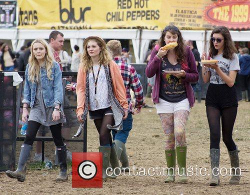 Leeds Festival 2012 held at Bramham Park -...