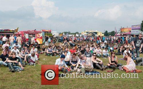 Leeds Festival 2012 held at Bramham Park -...