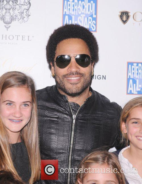 lenny kravitz arrives at the grand opening 4168220