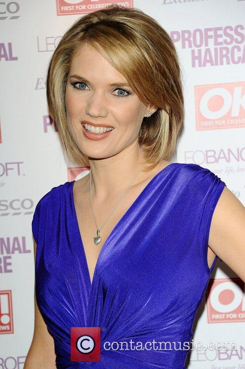 Charlotte Hawkins,  at the Leo Bancroft hair...
