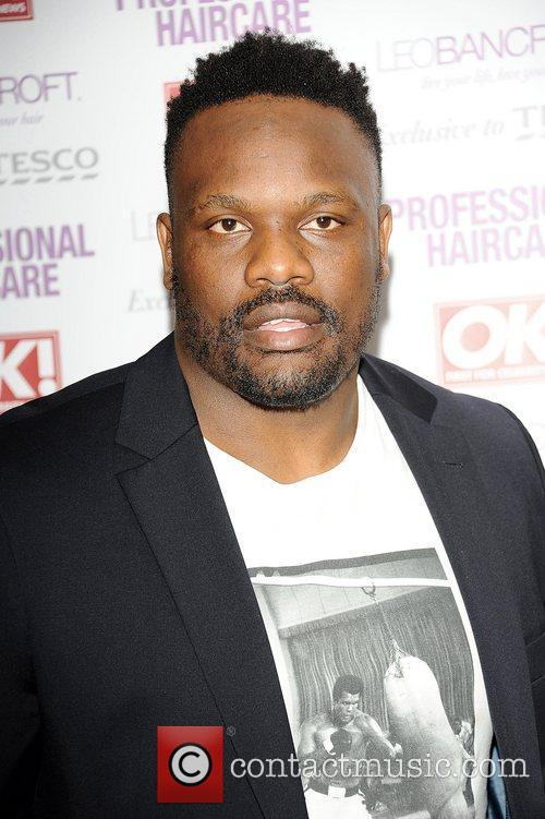 Dereck Chisora,  at the Leo Bancroft hair...