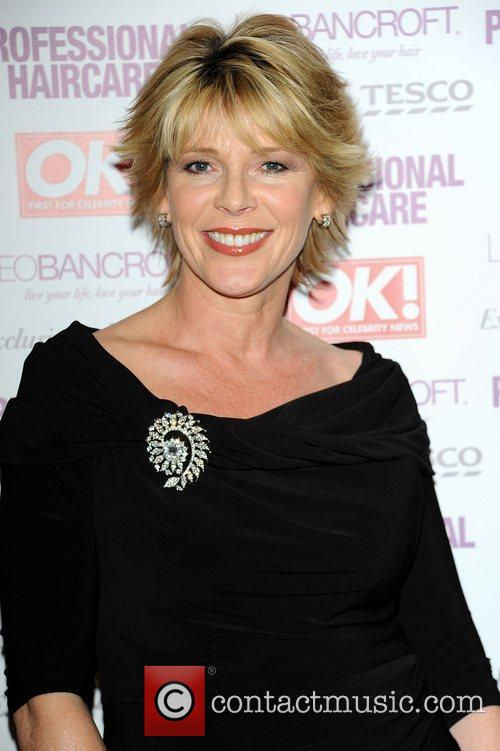Ruth Langsford,  at the Leo Bancroft hair...