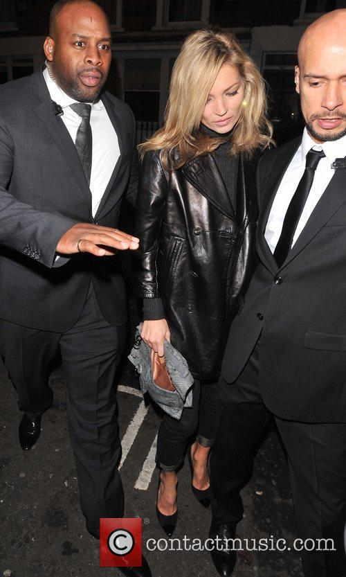 Kate Moss Leon Max - store launch party...