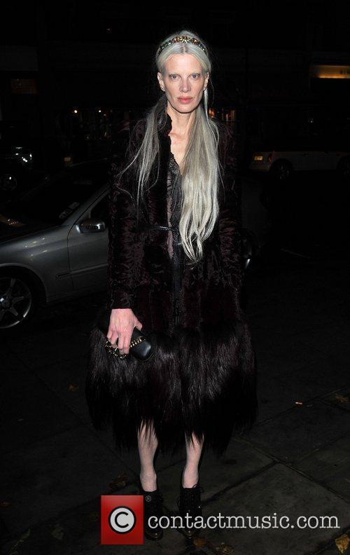 Kristen McMenamy Leon Max - store launch party...